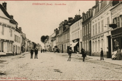 grande rue en direction de rouen