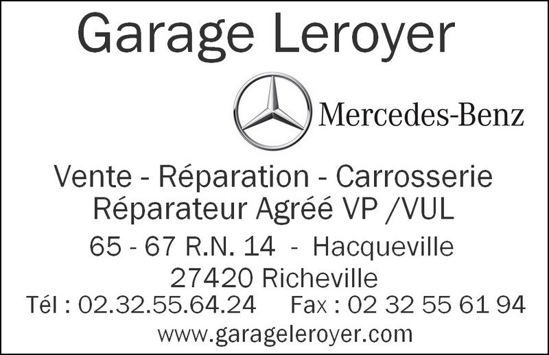 Garage Leroyer 27420