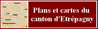 Carte du Canton d'Etrépagny