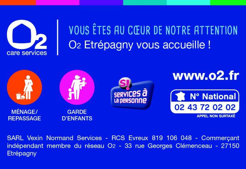 O2 - Services à domicile à Etrépagny