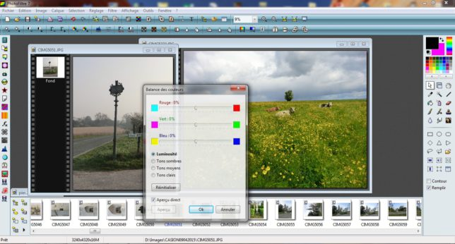 Formation PhotoFiltre