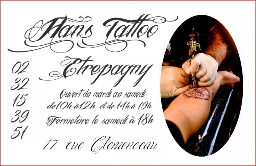 Tatouage à Etrépagny